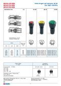 Led indicators catalogue - DOMO - Page 6