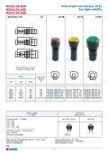 Led indicators catalogue - DOMO - Page 6