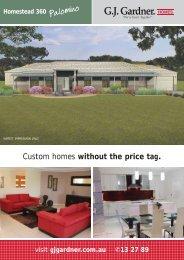 homestead range.qxp - G.J. Gardner Homes