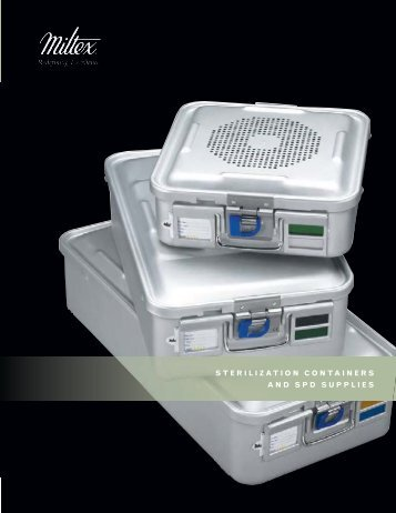 STERILIZATION CONTAINERS AND SPD SUPPLIES