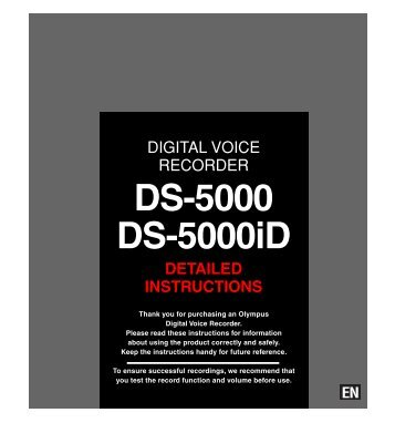 DS-5000 user manual - Digitalvoice.ie | Digital voice solutions from ...