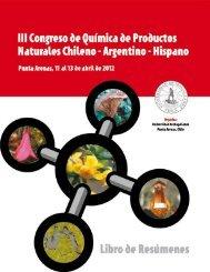 III Congreso de Química de Productos Naturales - Universidad de ...