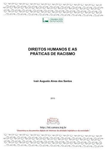 DIREITOS HUMANOS E AS PRÁTICAS DE RACISMO - Defensoria