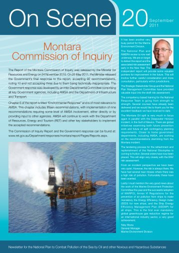 Montara Commission of Inquiry - Australian Maritime Safety Authority