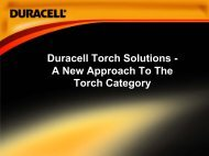 Duracell Torch Solutions