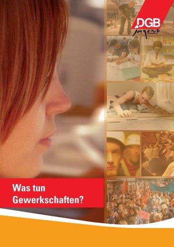 Was tun Gewerkschaften? - oja-potsdam.de
