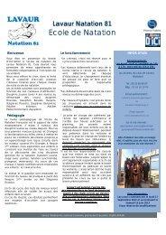 Ecole de Natation - Les sites abcNatation