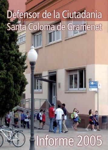 informe2005defensorciutada.pdf - Ajuntament de Santa Coloma de ...