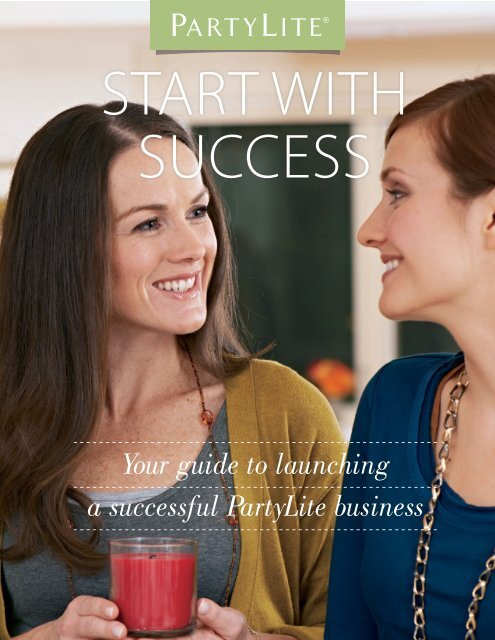 Steps - PartyLite Consultant Business Center