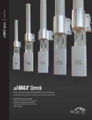airMAX Omni | Datasheet - Ubiquiti Networks