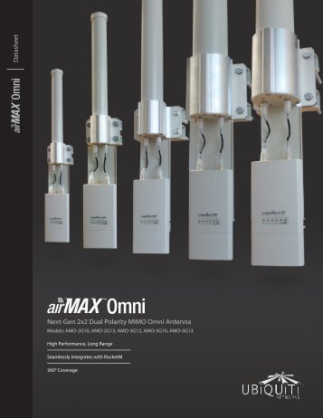 airMAX Omni   Datasheet - Ubiquiti Networks