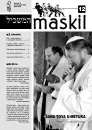 č.12 - Maskil