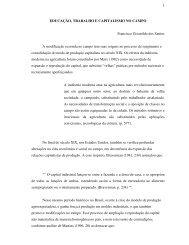 educação, trabalho e capitalismo no campo - Rede de Estudos do ...