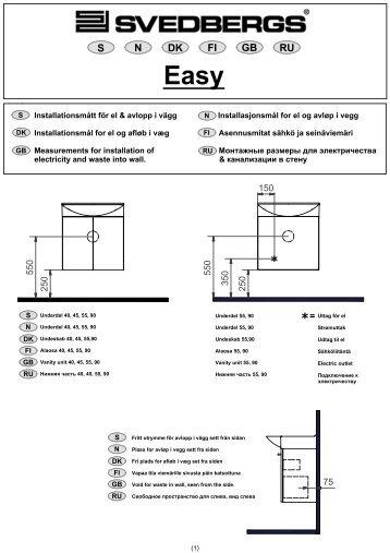 El och vatten Easy Mini sid 01 - Taloon.com