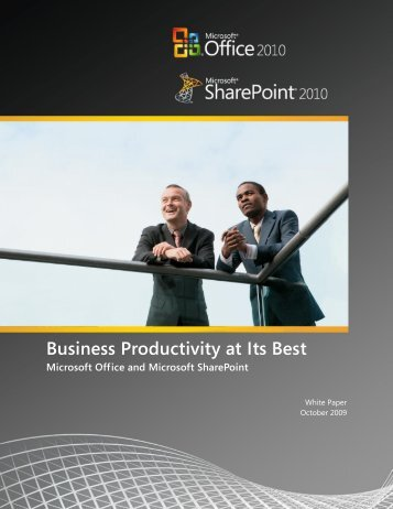 Business Productivity at Its Best - Download Center - Microsoft