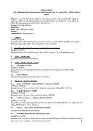 Výpis ze zápisu z 36. schůze zastupitelstva městyse Stařeč konané ...
