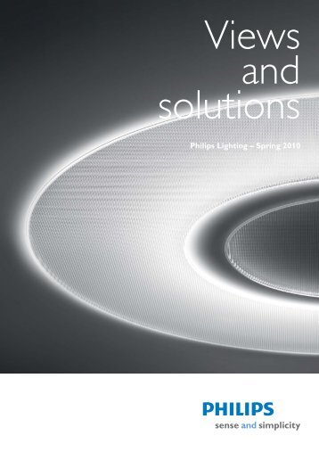 Views And Solutions - Philips Lighting