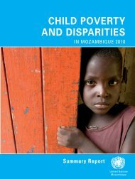 child poverty and disparities - UNICEF Mozambique - Home page
