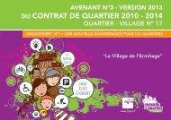 Quartier-village 17 - Ville d'Agen