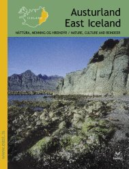 05Austurland dökk.indd - East Iceland