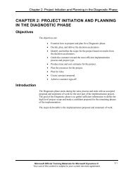 chapter 2: project initiation and planning in the diagnostic ... - tud.ttu.ee