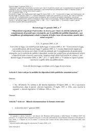"""Decreto-legge 31 gennaio 2005, n. 7 """"Disposizioni ... - Archivio CNIPA"""