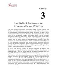 Gallery Late Gothic & Renaissance Art in Northern Europe, 1350-1550