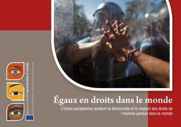 Égaux en droits dans le monde - The European Instrument for ...