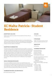 Patricia - Student Residence