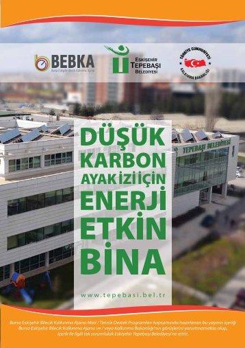 Düşük Karbon Ayak İzi İçin Enerji Etkin Bina - Tepebaşı Belediyesi