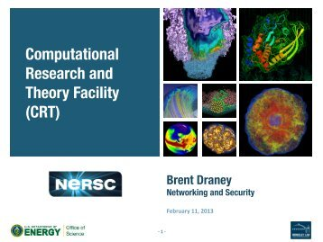 CRT - National Energy Research Scientific Computing Center