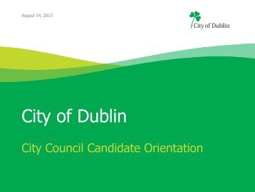 4. Candidate Resources - City of Dublin