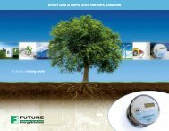 Smart Grid & Home Area Network Solutions - Future Electronics
