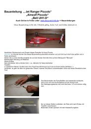 "Bauanleitung "" Jet Ranger Piccolo"" ""Airwolf Piccolo ... - Docu-and-Info"