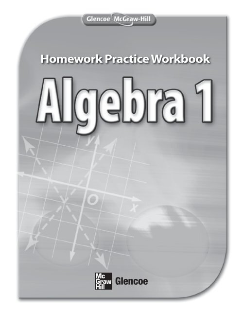 Homework Practice Workbook McGraw Hill Higher Education