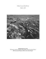 Atlantic Acropora Status Review - Southeast Regional Office - NOAA