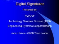 Technology Services Division (TSD)