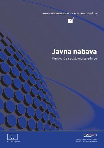 Mini vodiči za poslovnu zajednicu - Hrvatska obrtnička komora