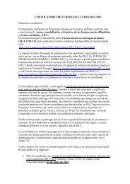 CONVOCATORIA DE CURSOS EILC CURSO 2012-2013 ...