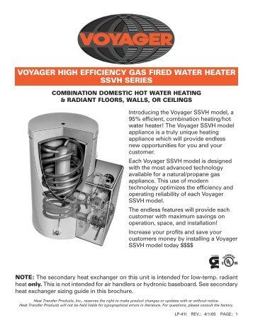 RHEEM POWERVENT COMMERCIAL GAS WATER HEATER DATASHEET Pdf Download