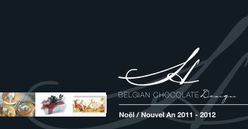 Catalogue de Noël - BELGIAN CHOCOLATE Design