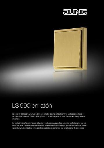 Serie LS Acero / Cromado / Latón - Jungiberica.net