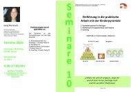 Einführung in die praktische Arbeit mit der Kinderpyramide - Quetheb