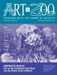 Art to Zoo: Contrasts in Blue: Life on the Caribbean Coral Reef and ...