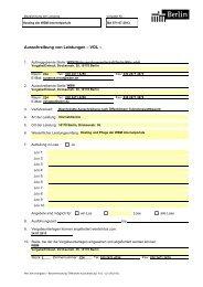 Ausschreibung von Leistungen - Die Vergabeplattform des Landes ...