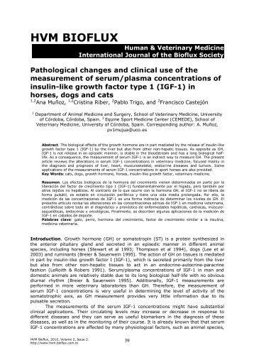 Muñoz A., Riber C., Trigo P., Castejón F., 2010 Pathological ...