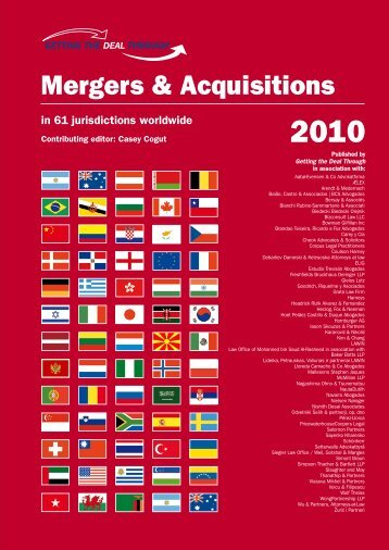 Mergers and Acquisitions - Bowman Gilfillan Attorneys