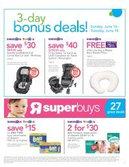 save $40 save $30 FREE $5Gift save $15 2 for $30 - Toys R Us