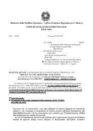 Quinto calendario - Ufficio Scolastico Territoriale di Pescara