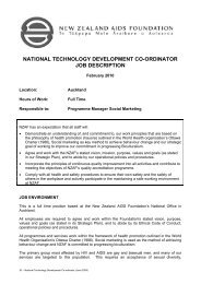 national technology development co-ordinator job description